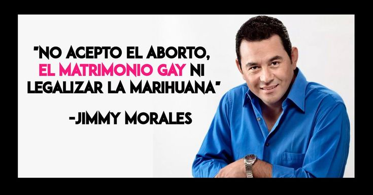 Anti-gay television personality Jimmy Morales has been elected president of Guatemala in a landslide win against a former first lady. And according to Breitbart, that means television personality Donald Trump will probably beat a former first lady too. They write: Because worldwide political trends are often contagious, the outcome of Guatemala's presidential election could have ...