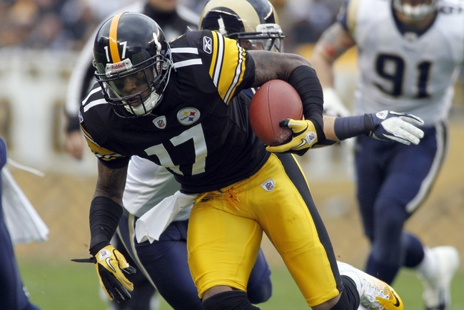 Mike Wallace, Pittsburgh Steelers
