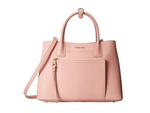 Pale Pink Satchel From Calvin Klein Handbags Purses Accessories