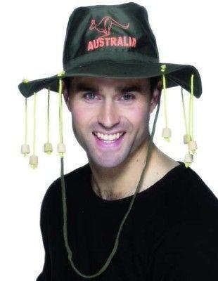 #Australian cork hat fancy #dress cricket #aussie hat oz hat new by smiffys,  View more on the LINK: http://www.zeppy.io/product/gb/2/331161005374/
