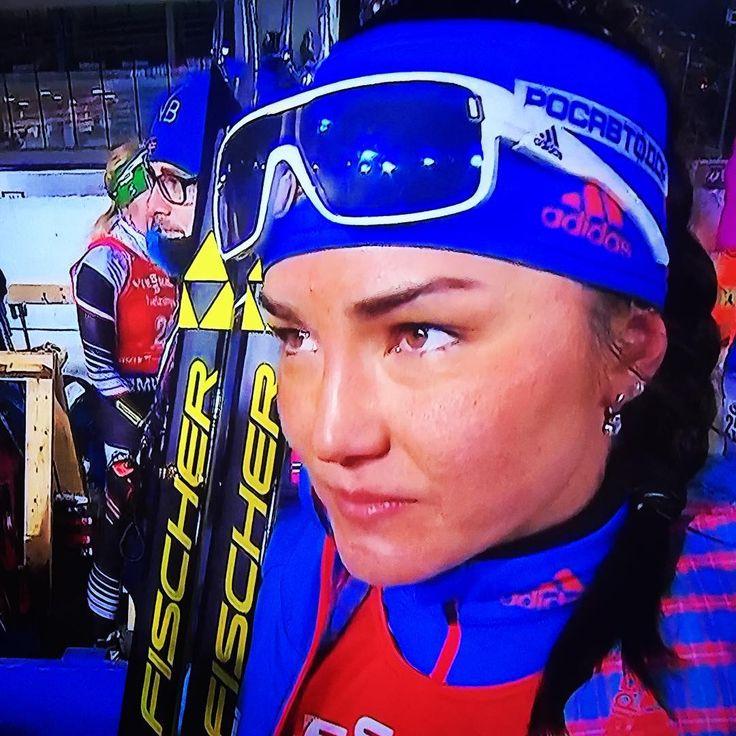 Татьяна Акимова, бронза в гонке преследования в Нове-Место-2016. #ski #sport #biathlon #татьянаакимова #новеместо #новеместо2016 #биатлон #спорт