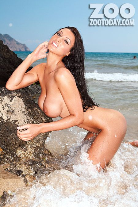 alice goodwin nude | Alice Goodwin Topless And Naked At The Beach For Zoo Magazine | The ...