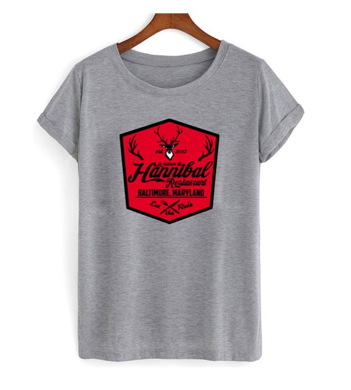La maison du Hannibal T shirt  Shirts, Mens tops, T shirt