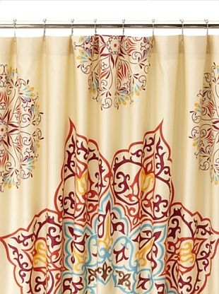 54% OFF Blissliving Home Chanda Shower Curtain (Tan)