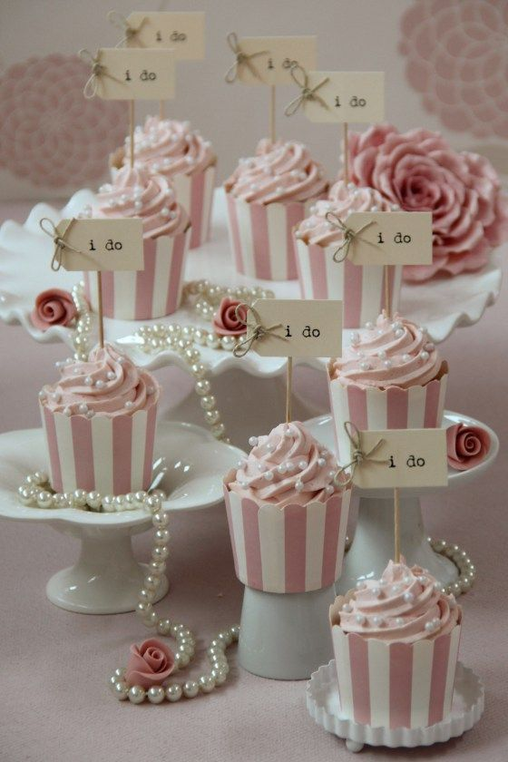 I do cupcakes by Sweetness Cake Boutique via Nu Bride