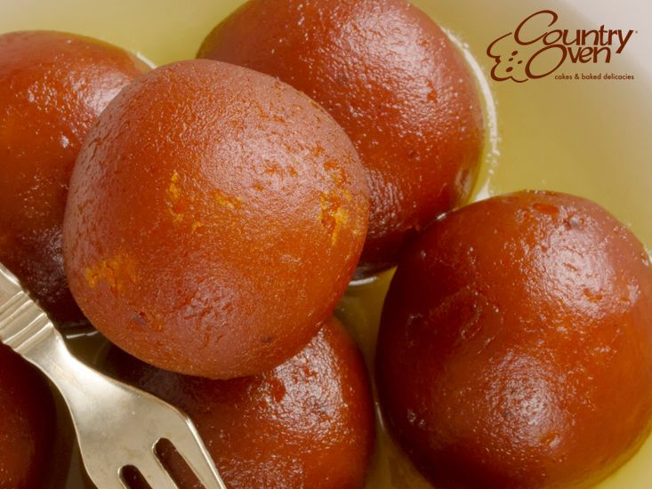 Celebrate your special #occasions with the delicious #IndianSweets. Send this tasty and mouthwatering softy #GulabJamun to your loved ones.  Order Online @ www.countryoven.com.