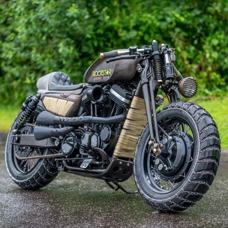 ϟ Hell Kustom ϟ: Harley Davidson By Shaw Speed And Custom