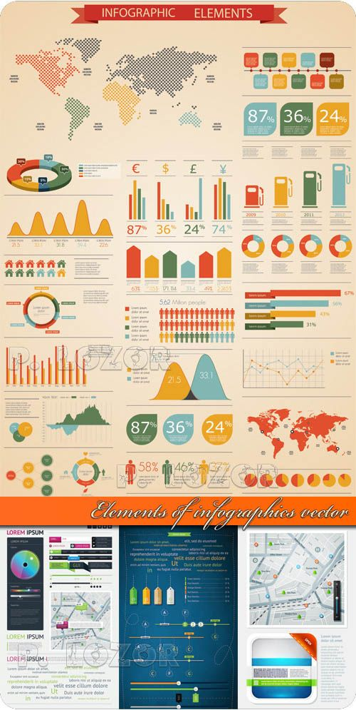 70 Best Free Infographics Psd And Vectors Images On
