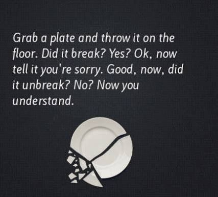 Now you understand. Good way to teach kids how their words can hurt!