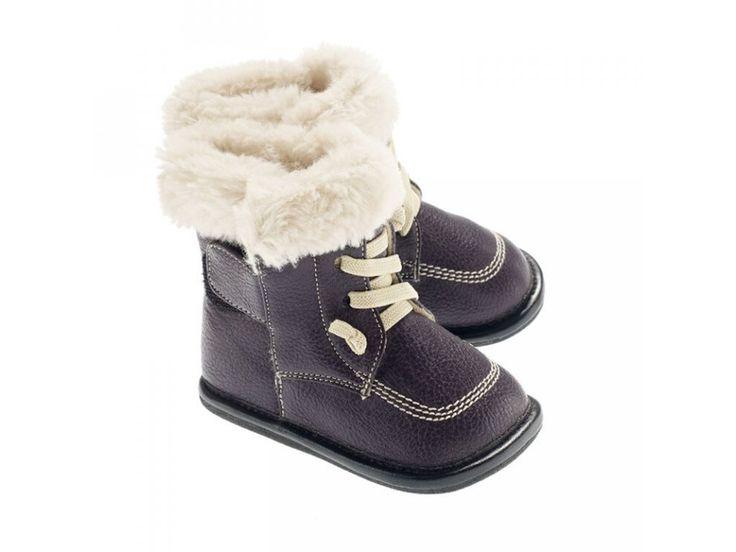 Jack & Lily ZOE | PRO HOLKY - kožená dětská zimní obuv. Jack & Lily My Boots Ručně vyrobené zimní boty z kvalitní broušené eko kůže a netoxických materiálů - jemné nealergické podšívky, flexibilní přírodní gumové 3 mm podrážky. Díky...