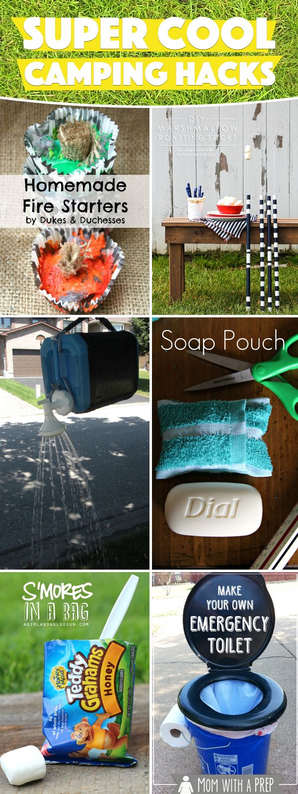 20 Super Cool Camping Hacks Making Your Trips Hassle-Free and Fun!