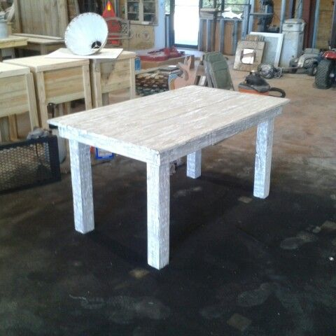 6u0027 outdoor farm table finished in driftwood