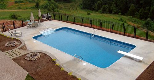 1000 Images About Pools On Pinterest Rectangle Pool
