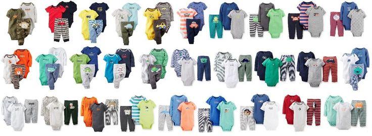 NEW NWT Boys Carter's 3 Piece Set Newborn 3 6 9 12 Months You Choose Mommy Daddy  | eBay