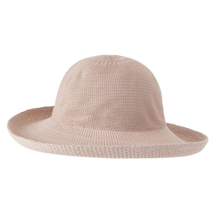 Breton Hat - Light Brown  www.sunhats.co.za