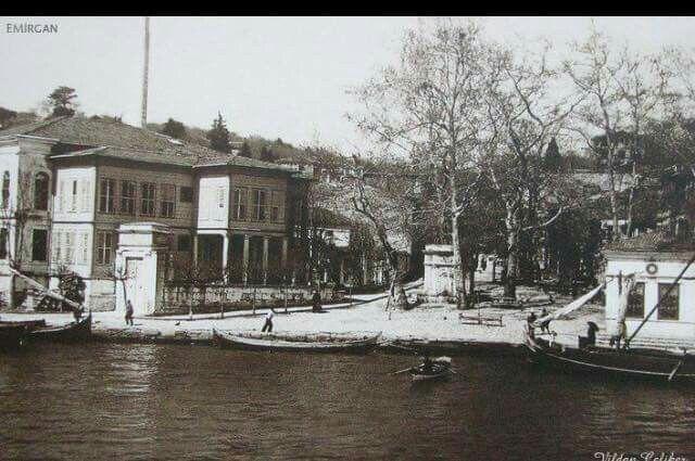 Emirgan Çınaraltı 1950 ler.