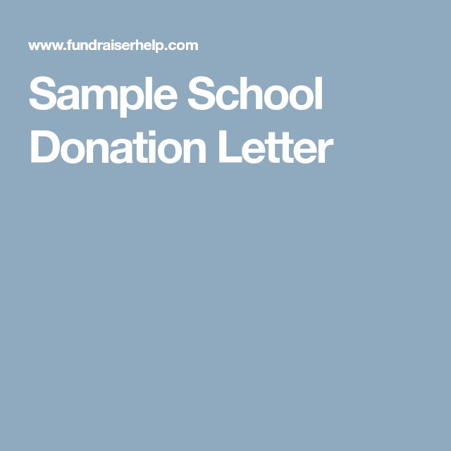 Best  Donation Letter Samples Ideas On   Fundraising