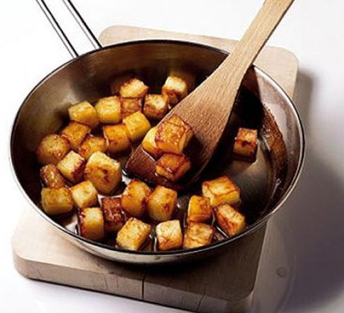 Perfect sautéed potatoes