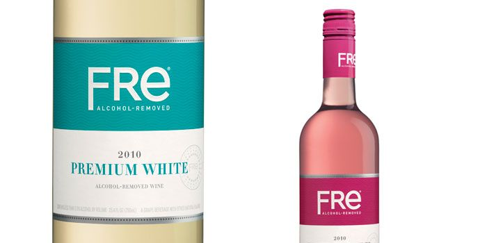 There was a 10 month period a few years ago when I couldn't drink (no, I was not pregnant). In desperate times, I turned to Fre, non-alcoholic wine. It's not the same, but it sort-of does the job. Anyway, looks like they refreshed their packaging!