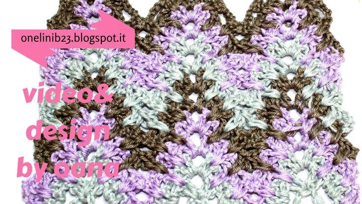 crochet chevron stitch pattern