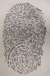 Art. Paper. Scissors. Glue!: Micrographic Thumbprints