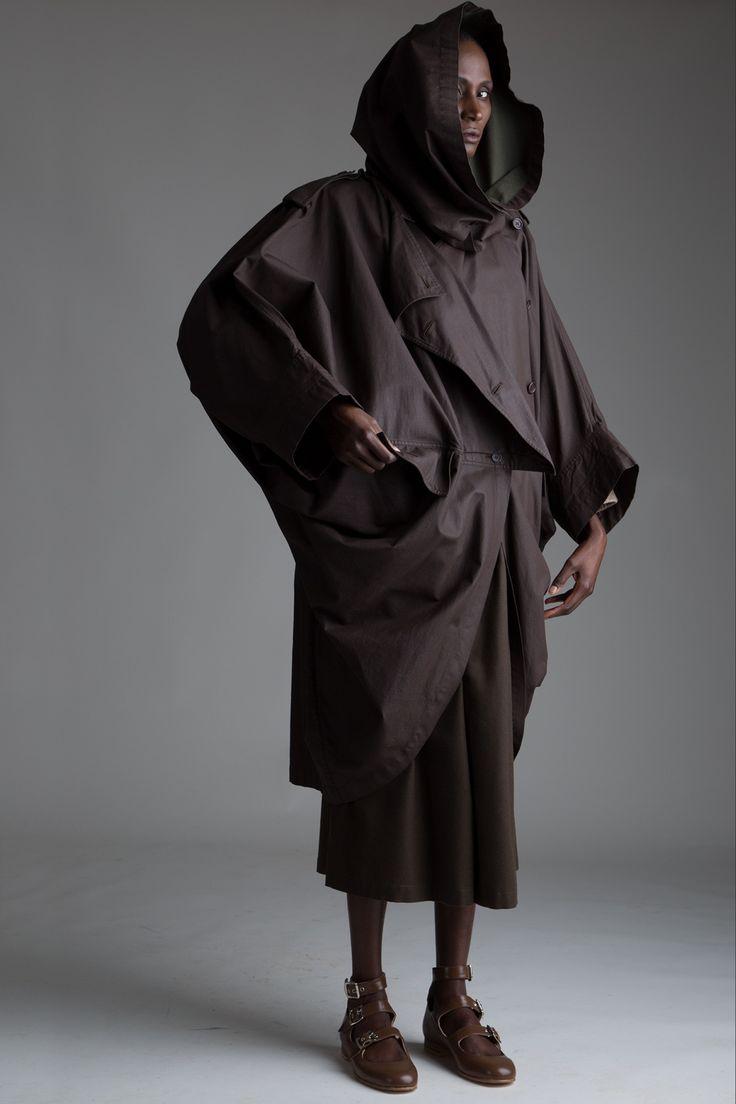 Vintage Issey Miyake Coated Cotton Coat