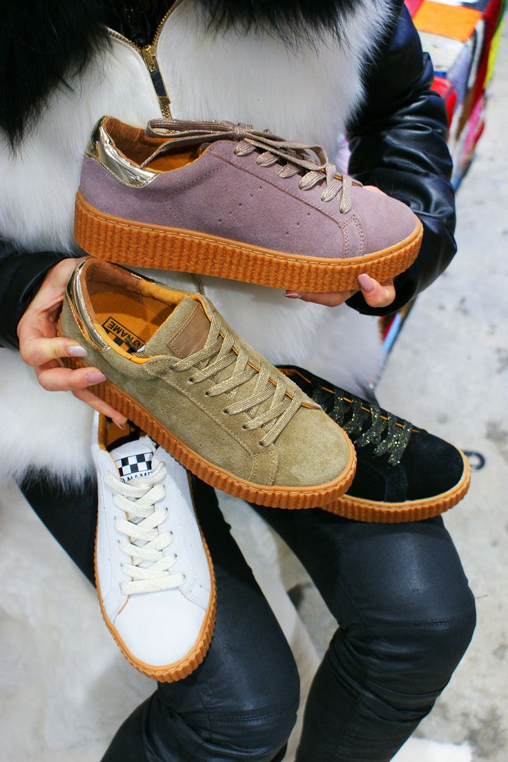 La folie NO NAME ! Les sneakers tendance pour 2017 !  #sneakers #baskets #noname #summer #spring #look #style #fashion #shoes #chaussures #chaussuresonline #girl #ootd