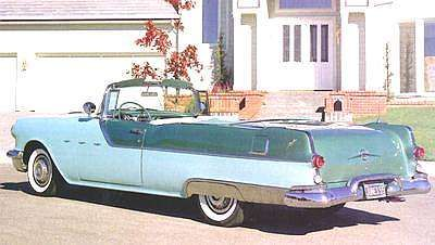5.  Dad quickly replaced the Fleetline with a used blue/white 2-tone 1955 Star Chief convertible in 1958.  Pretty tired by the time it landed in our driveway, it still meant that we had 2 Pontiac convertibles - a fact that impressed me more than anyone else.  I couldn't wait to turn 17 and get my driver's license.  Regardless which of my parents' cars I drove, it would be a Pontiac convertible!