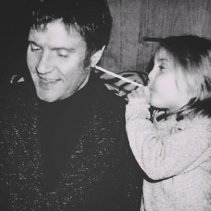 Simon & daughter Saffron Le Bon