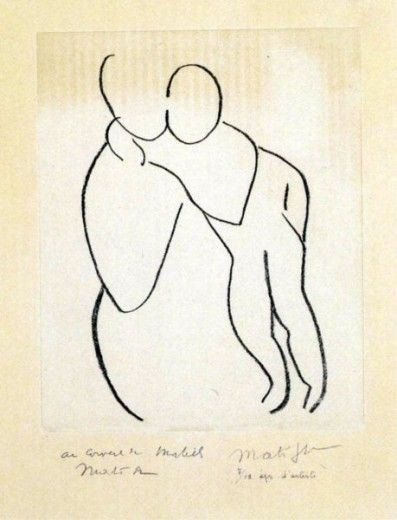 Matisse. It seems to be the hallmark of great artists, a few simple lines can evoke so much emotion.