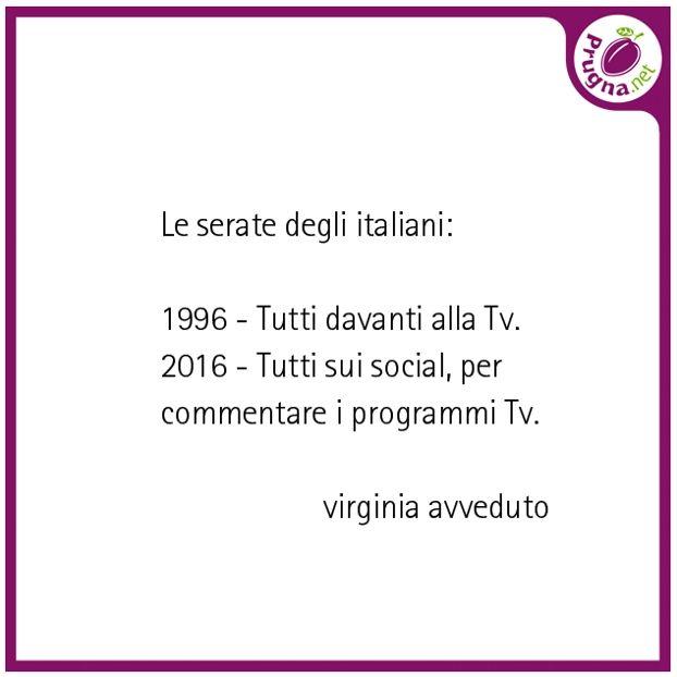 Le serate degli italiane