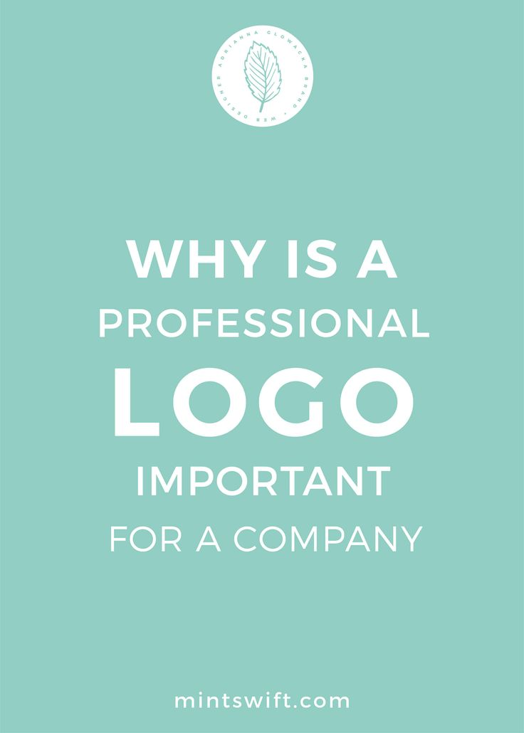 A logo is a visual representation of your business and, therefore, it's crucial. Logo design establishes your identity, and it is also the most powerful marketing tool. When someone enters a store, visits a website, or sees a product on a shop shelf, the first thing he or she notices is a logo with a name of a brand or a symbol that represents a business. A well-designed logo is an essential part of any company's marketing strategy.