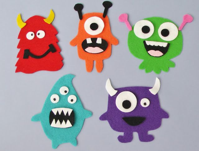 Monster Set | Flannel Board Fun