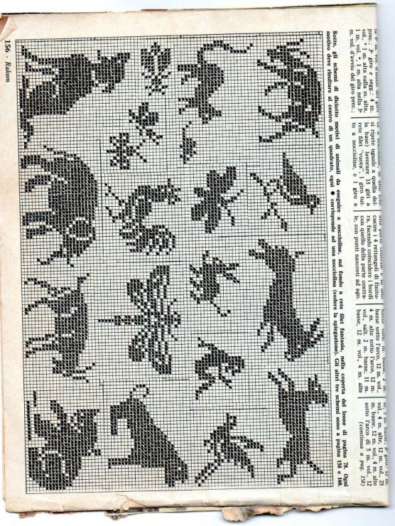 336 mejores imágenes de crochet animales en Pinterest | Patrones de ...