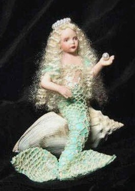 how to: mermaid miniature dollMiniatures Tutorials, Mermaid Miniatures, Fairies Gardens Miniatures, Dolls Dollhouse, Polymer Clay, Miniatures Crafts, Fantasy Mermaids, Dollhouse Miniatures, Dolls Fairies