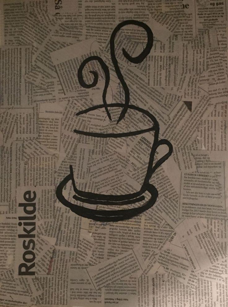 Coffee ☕️ painting
