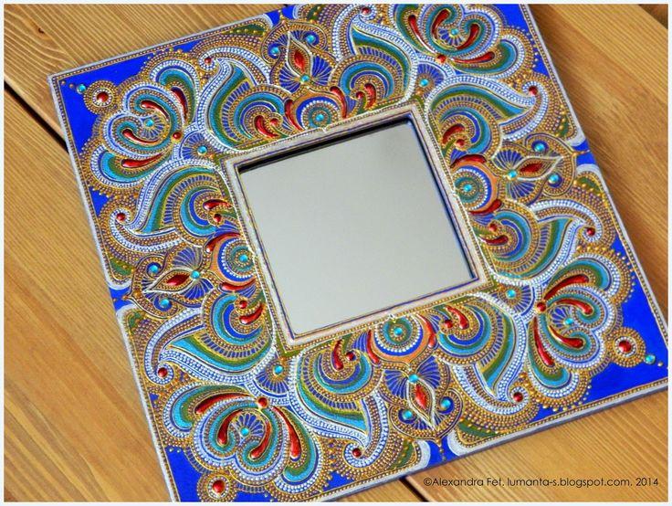 Arte por Alexandra Fet: Espejo Azul