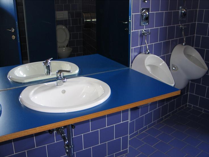 Gentlemen's shared bathroom