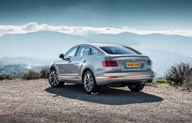 Bentley Bentayga Coupé: un render prova ad immaginarla