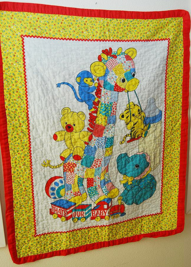 41 Best Images About Vintage Baby Quilts On Pinterest