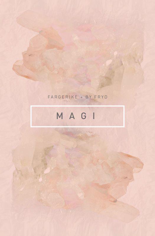 Fototapet M A G I. byFryd for Fargerike - i butikk fra 15.april!