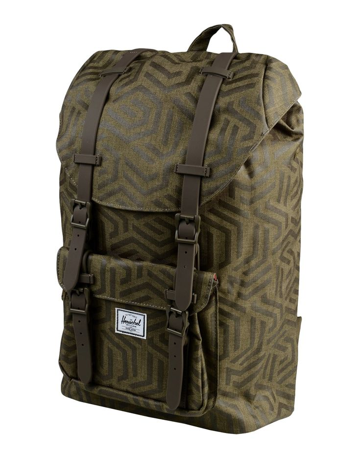 herschel little america, THE HERSCHEL SUPPLY CO. BRAND Rucksack & bumbag Khaki women Bags, herschel backpack price cheap catalogo
