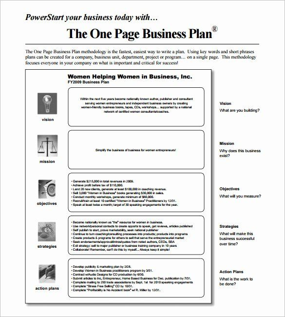 1 Page Business Plan Template Lovely 14 Business Action Plan Template Doc Pdf One Page Business Plan Marketing Plan Template Business Plan Template Free