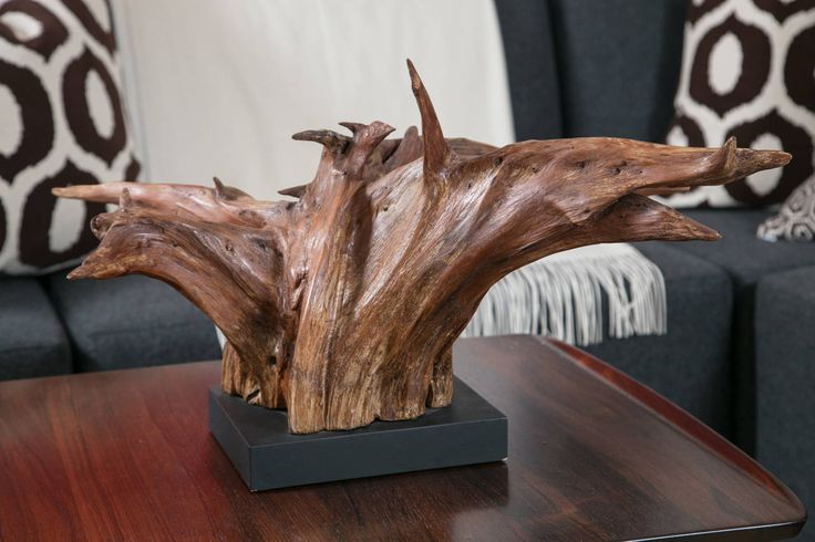 Mounted Driftwood Sculpture | From A Unique Collection Of Antique And Modern  Sculptures At Https: