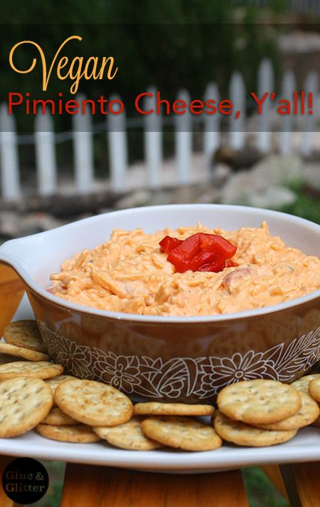 My new favorite vegan pimiento cheese recipe! It's so, so easy.