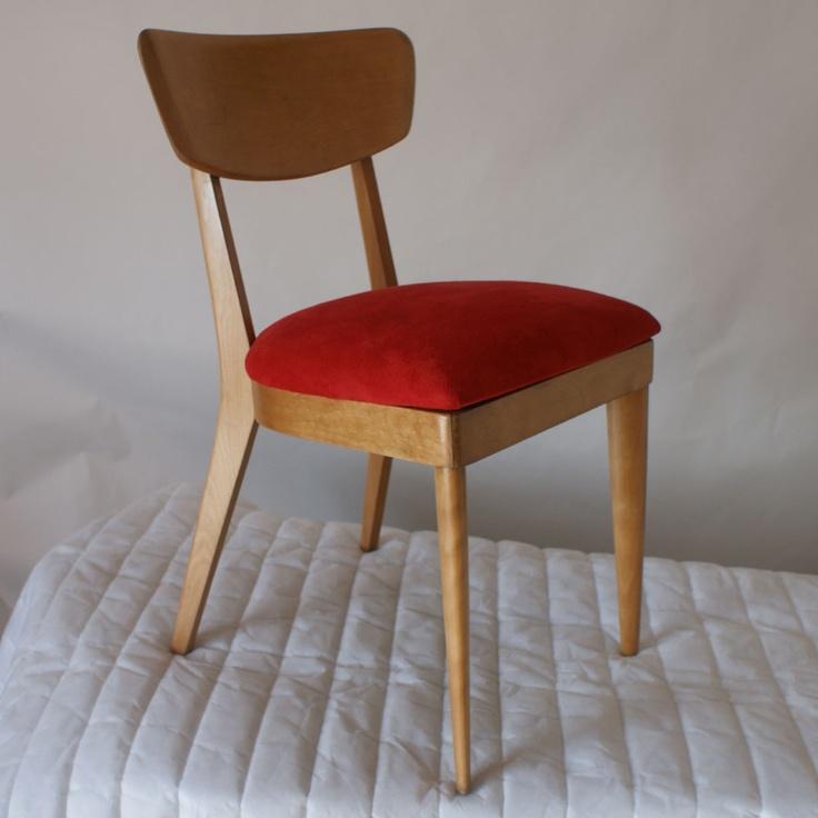 3 Vintage Heywood Wakefield Dining Chair M1551a Metro