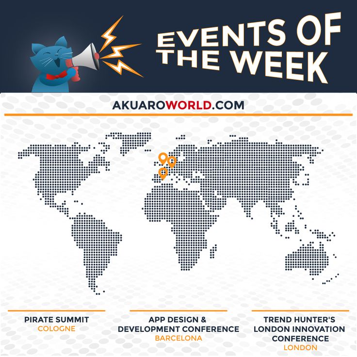 Let's start July strong with three special events, which of these peaks your interest the most? Pirate Summit @addconf @trend_hunter #PirateSummit #AD…