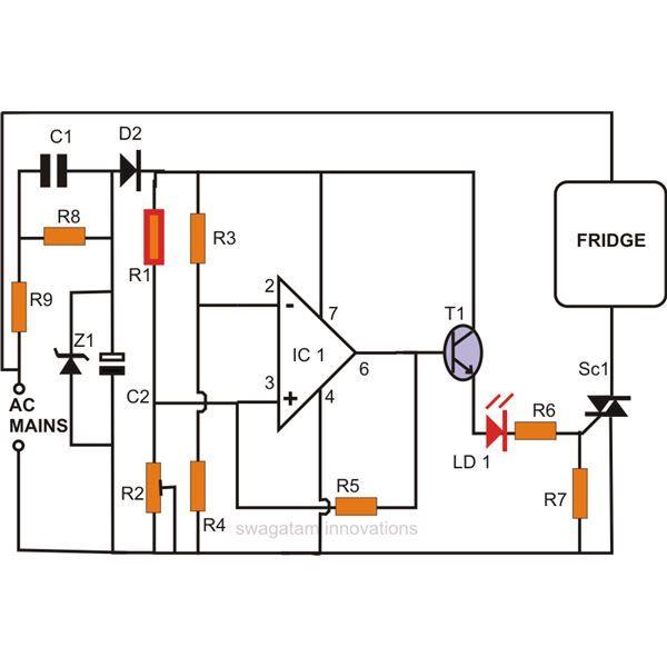 Refrigerator Thermostat Fridge Thermostat Wiring Diagram