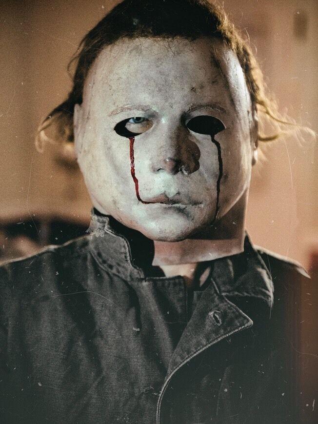 NAG JC 75K H2 Blood Tears Michael Myers Mask | Collectibles, Holiday & Seasonal, Halloween | eBay!