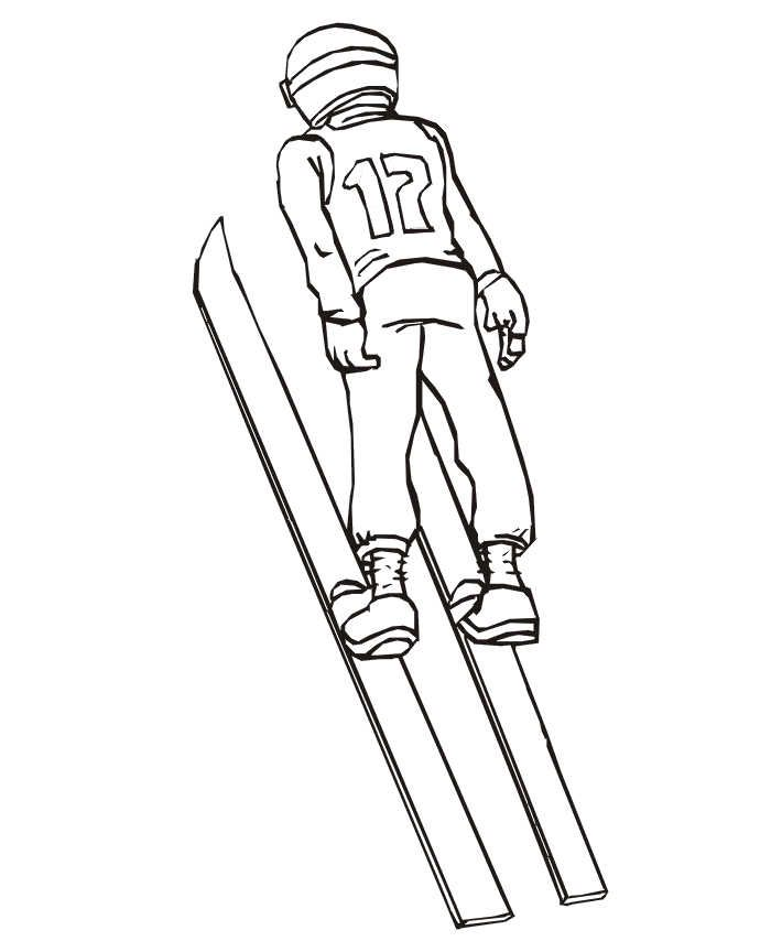 Printable Winter Olympics Coloring Pages Free Free Coloring Sheets Sports Coloring Pages Ski Jumping Winter Olympics
